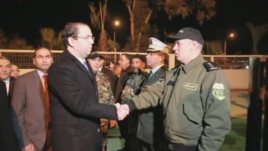 رئيس الحكومة يطلع على سير العمل باقليمي الامن و الحرس الوطني ببن عروس