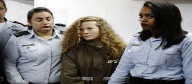 محاكمة الفلسطينية عهد التميمي