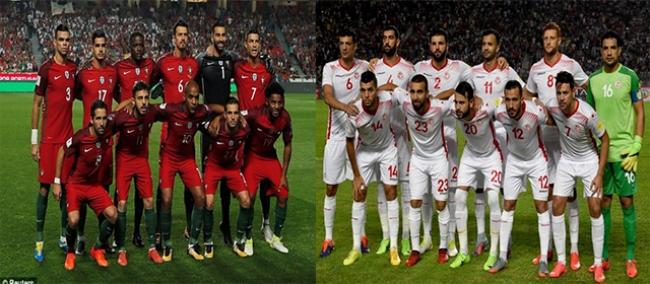 مباراة ودية مرتقبة بين تونس و البرتغال