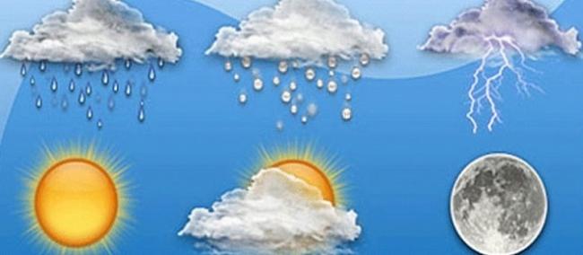 أمطار غزیرة محلياً مع انخفاض في درجات الحرارة مساء الیوم وغدا