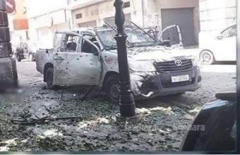 إستشهاد مواطن متأثرا بجراحه أصيب بها خلال العملية الإرهابية الإرهابية بشارع - شارل ديغول -