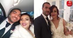 الممثلة منال عبد القوي تحتفل بزفافها