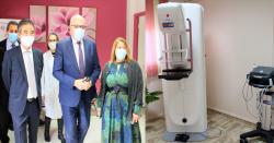 الملاسين : تركيز آلة تقصي سرطان الثدي بمركز رعاية الأم والطفل بإشراف وزير الصحة